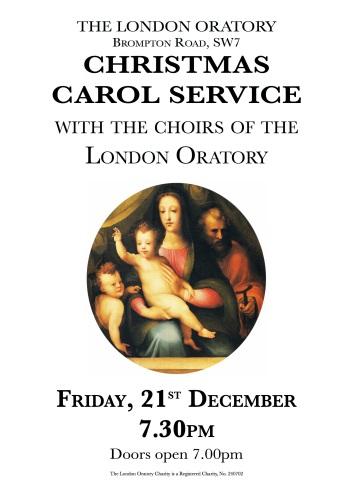 Oratory Carol Service