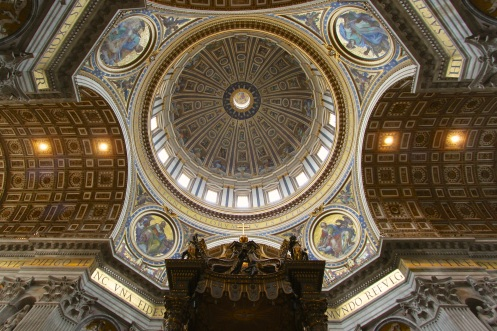 St Peter's dome int 2