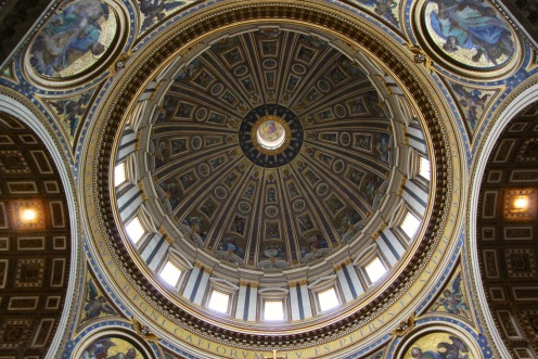 St Peter's dome int 1