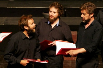 Ed Tolputt, Allan Clayton & Alex Ashworth